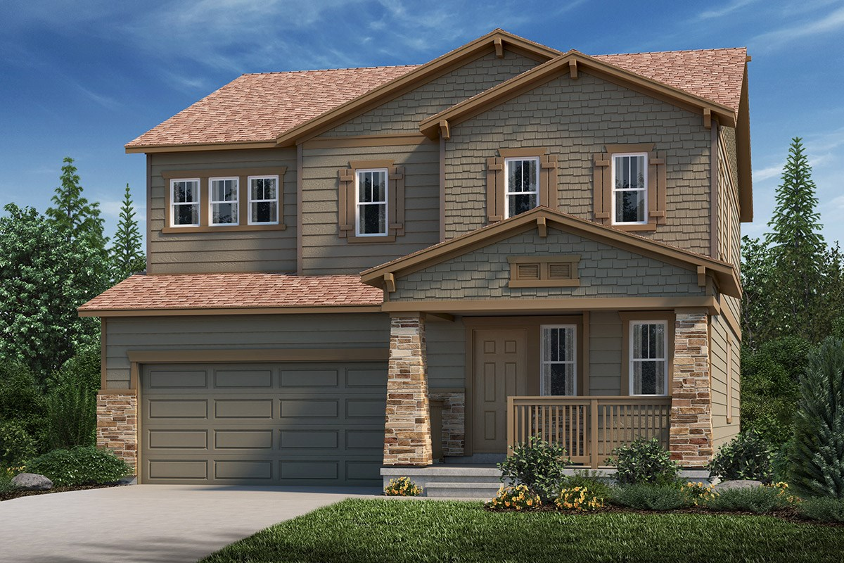 New Homes in Loveland, CO - The Lakes at Centerra Sparkle - Elevation C