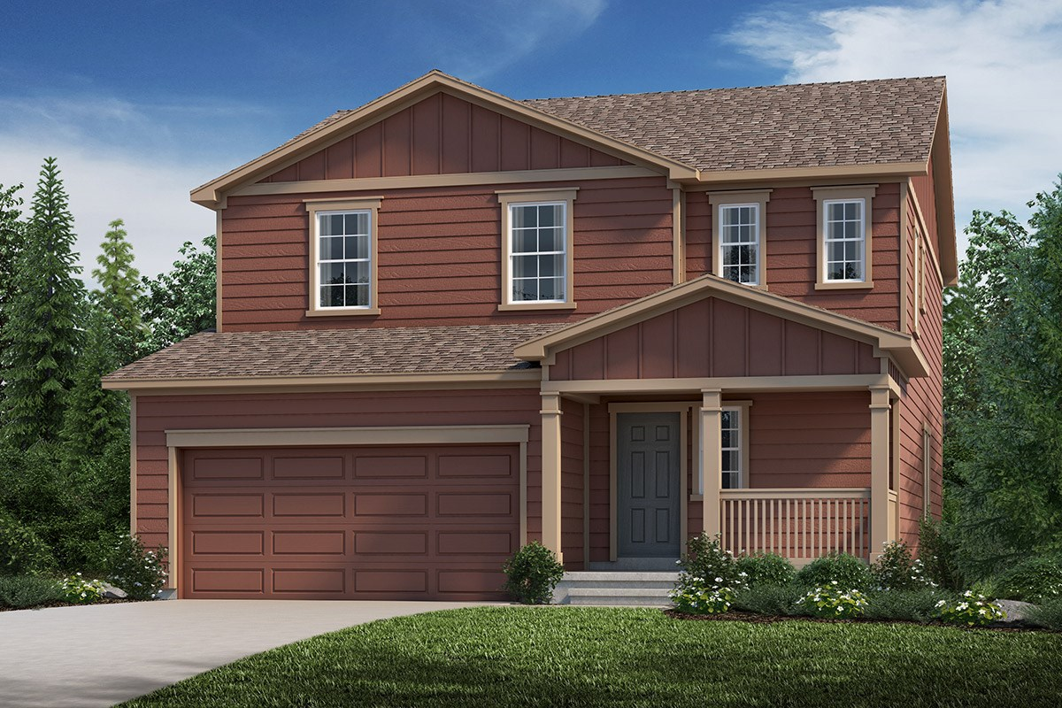 New Homes in Loveland, CO - The Lakes at Centerra Serendipity - Elevation A