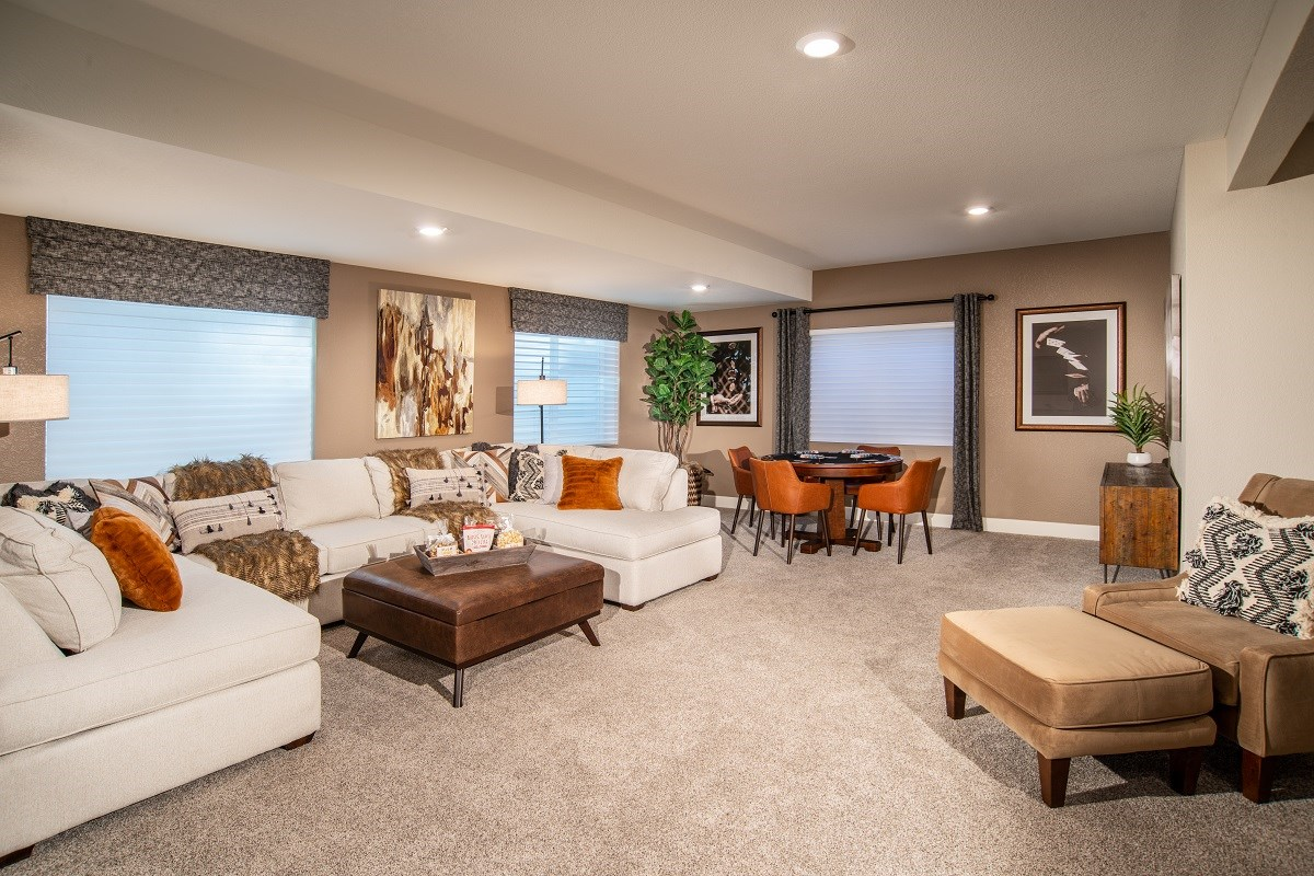 New Homes in Aurora, CO - Copperleaf Hawthorn - Basement