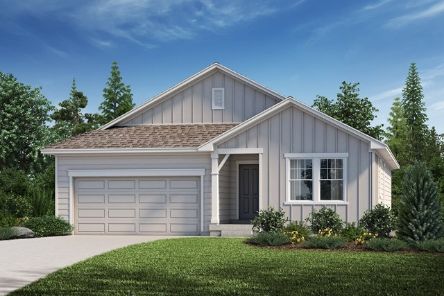 New Homes in Aurora, CO - The Birch - Elevation A