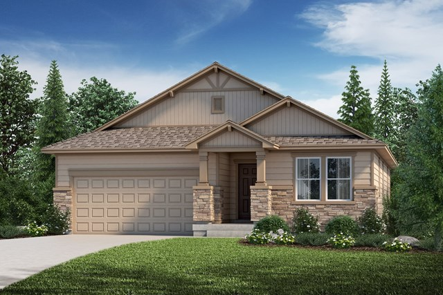 New Homes in Aurora, CO - The Birch - Elevation B