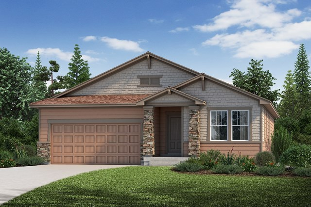 New Homes in Aurora, CO - The Birch - Elevation C