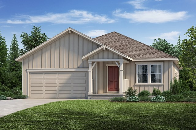 New Homes in Aurora, CO - The Cottonwood - Elevation A
