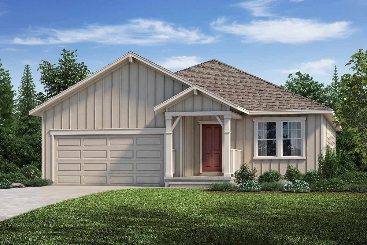New Homes in Aurora, CO - Copperleaf The Cottonwood - Elevation A