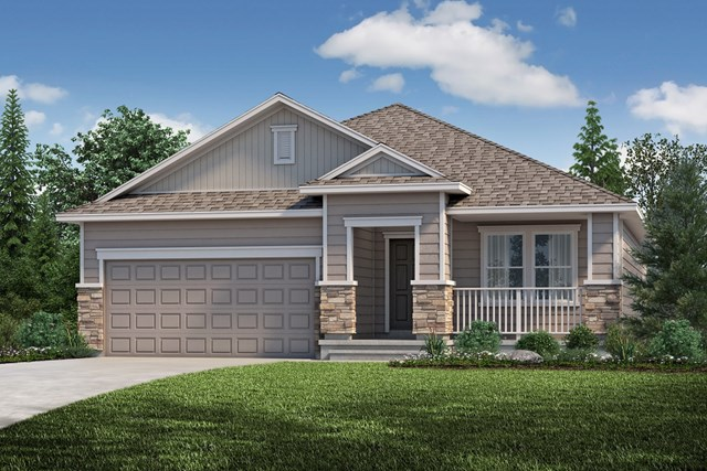 New Homes in Aurora, CO - The Cottonwood - Elevation B
