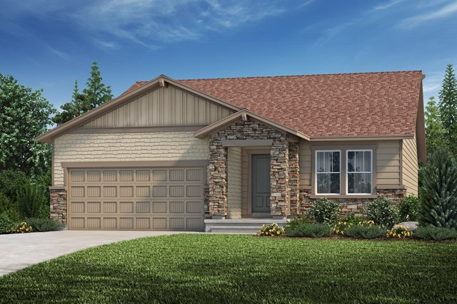 New Homes in Aurora, CO - The Cottonwood - Elevation C