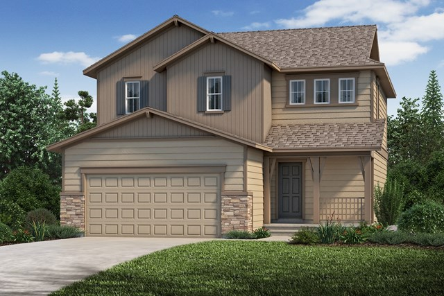 New Homes in Aurora, CO - The Deckers - Elevation B