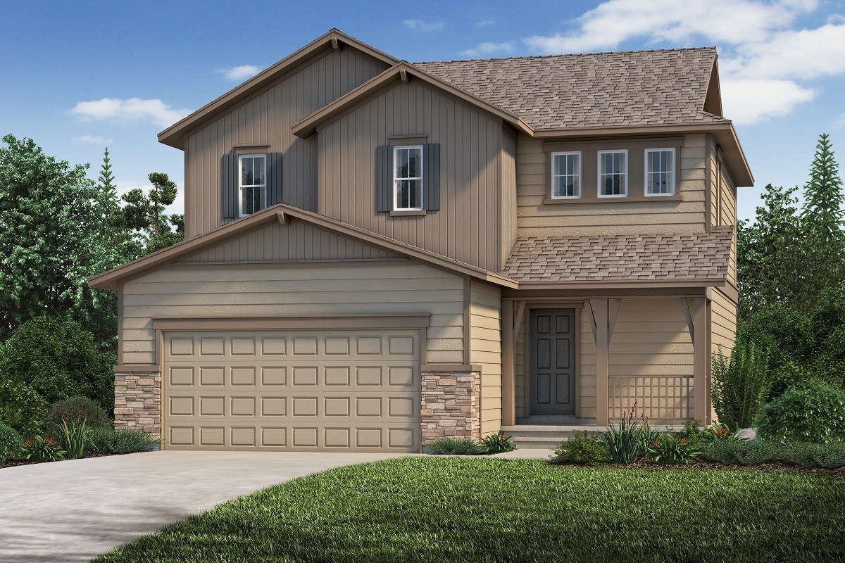 New Homes in Aurora, CO - Copperleaf The Deckers - Elevation B