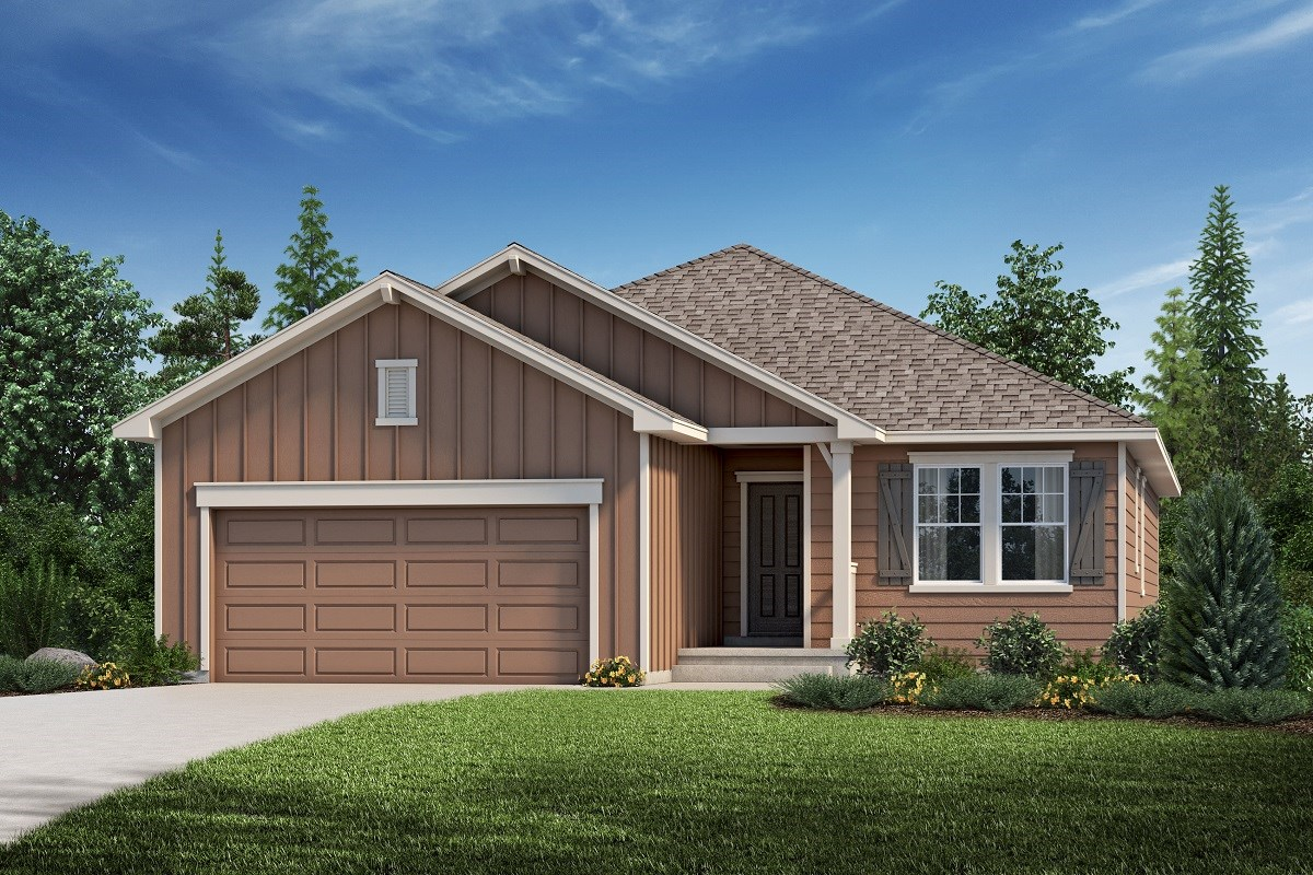 New Homes in Aurora, CO - Copperleaf The Chaucer - Elevation A