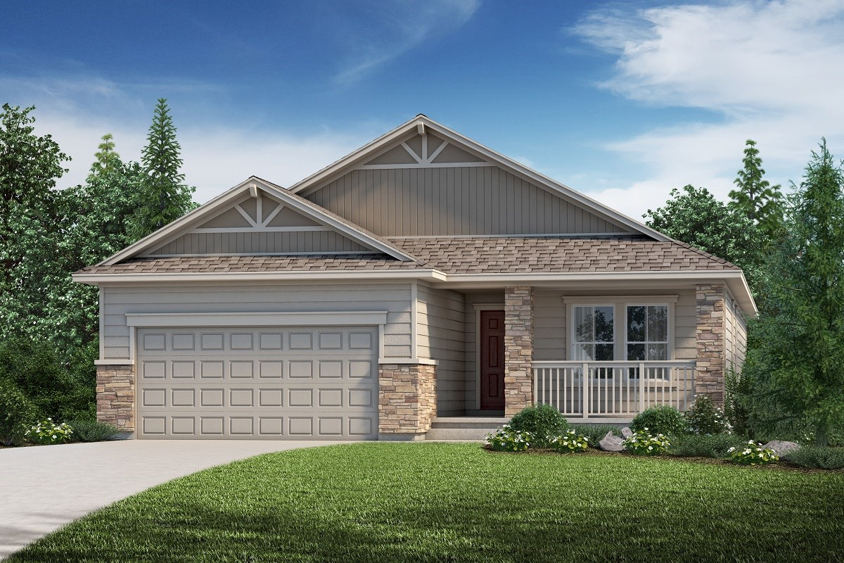 New Homes in Aurora, CO - Copperleaf The Chaucer - Elevation B