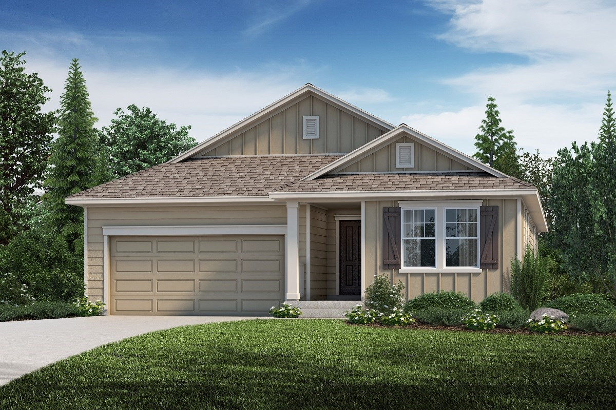 New Homes in Aurora, CO - Copperleaf The Hawthorn - Elevation A