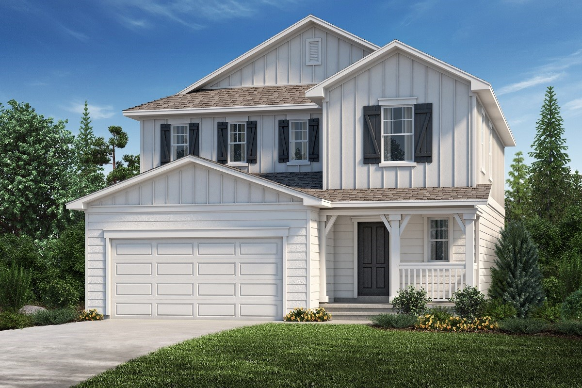 New Homes in Aurora, CO - Copperleaf The Kittredge - Elevation A