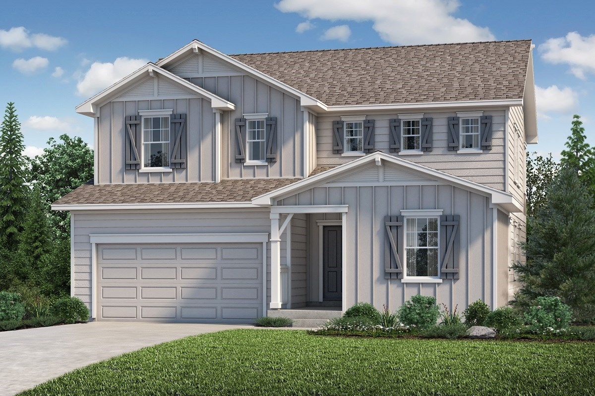 New Homes in Aurora, CO - Copperleaf The Lafayette - Elevation A