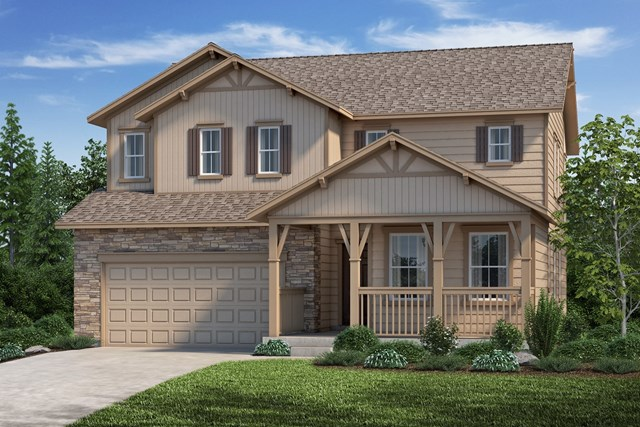 New Homes in Aurora, CO - The Lafayette - Elevation B