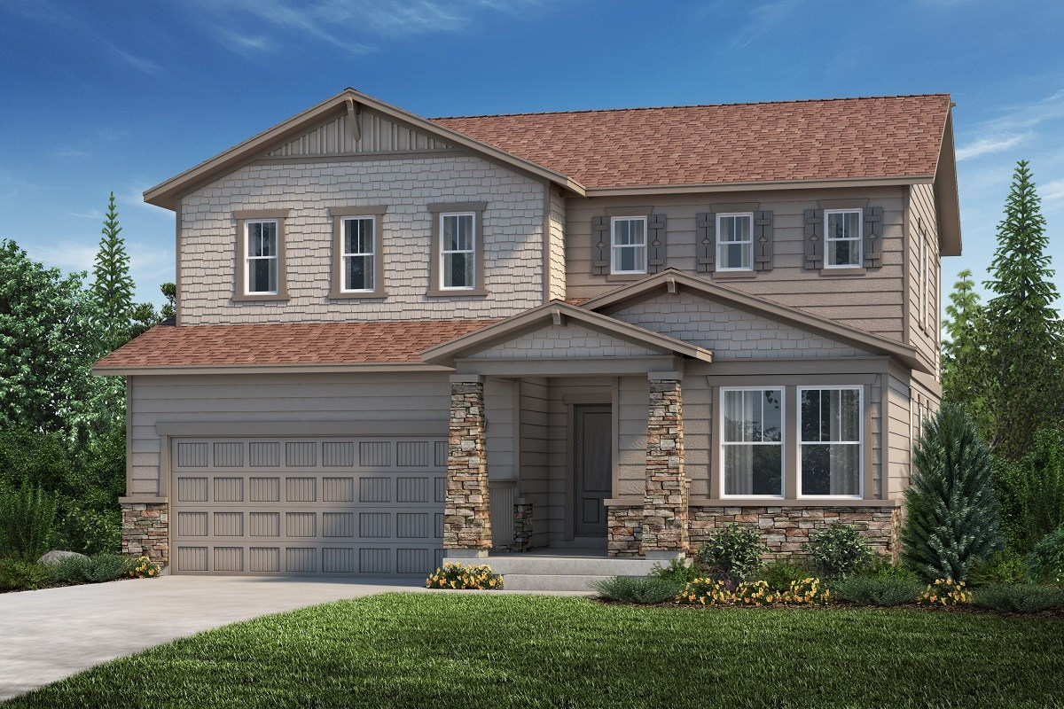 New Homes in Aurora, CO - Copperleaf The Lafayette - Elevation C
