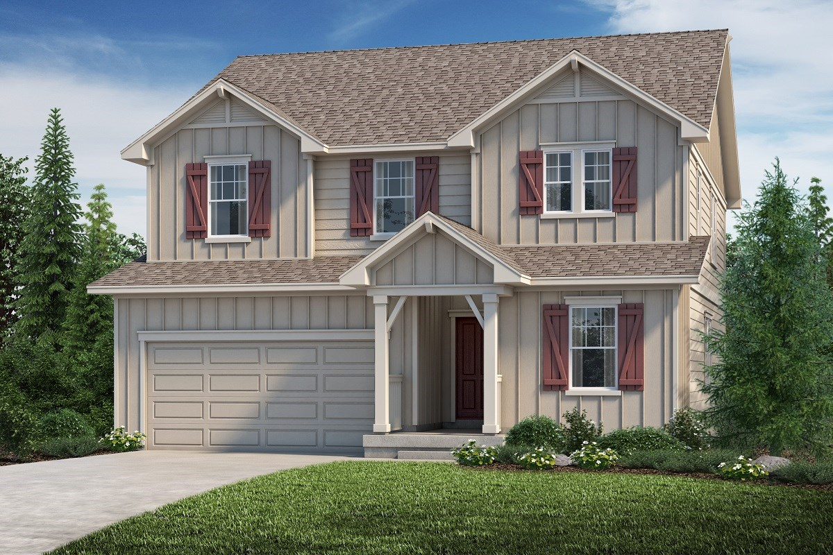 New Homes in Aurora, CO - Copperleaf The Loveland - Elevation A