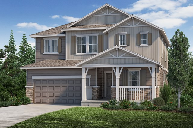 New Homes in Aurora, CO - The Loveland - Elevation B