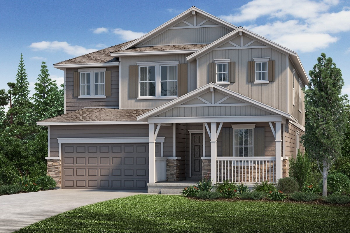 New Homes in Aurora, CO - Copperleaf The Loveland - Elevation B
