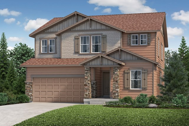 New Homes in Aurora, CO - The Loveland - Elevation C