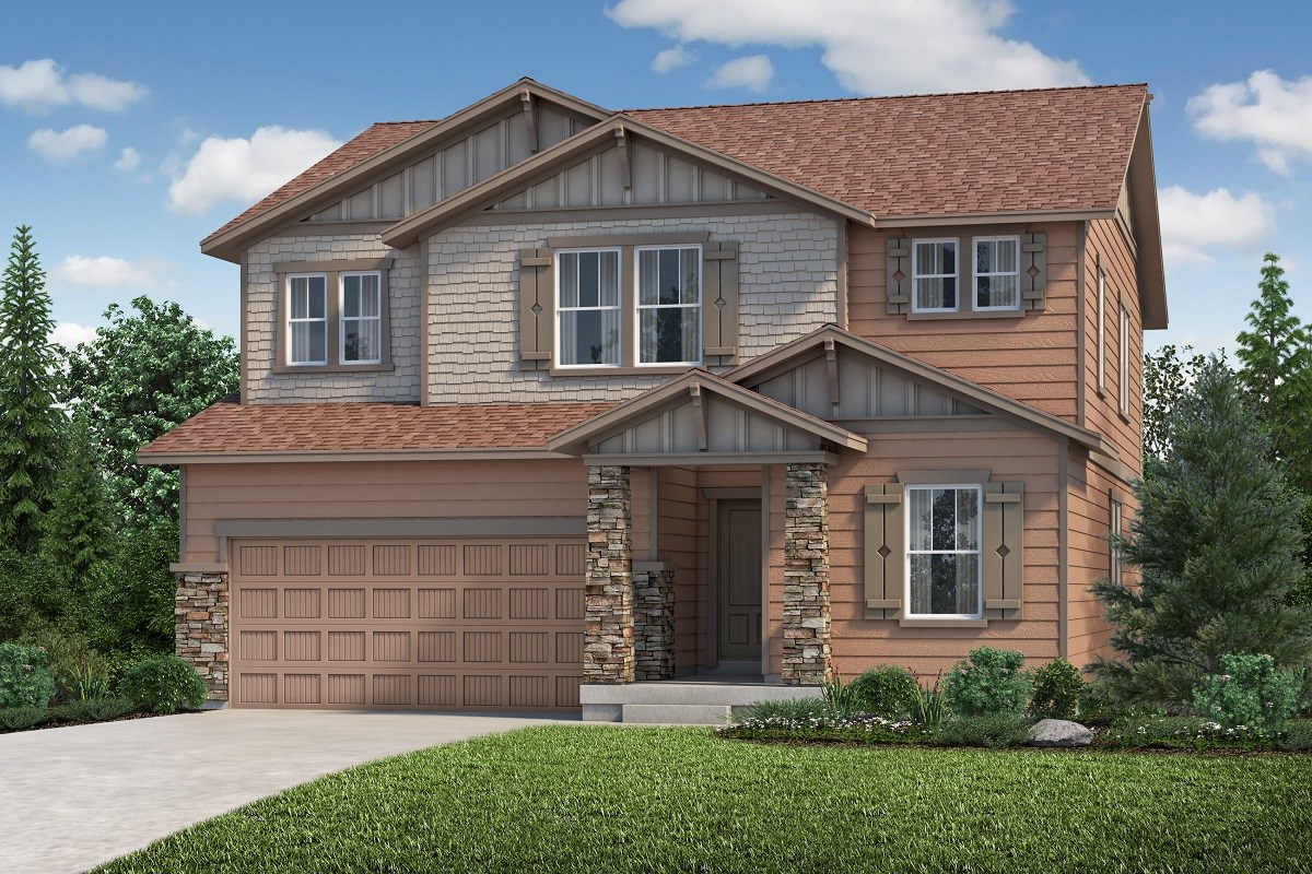 New Homes in Aurora, CO - Copperleaf The Loveland - Elevation C