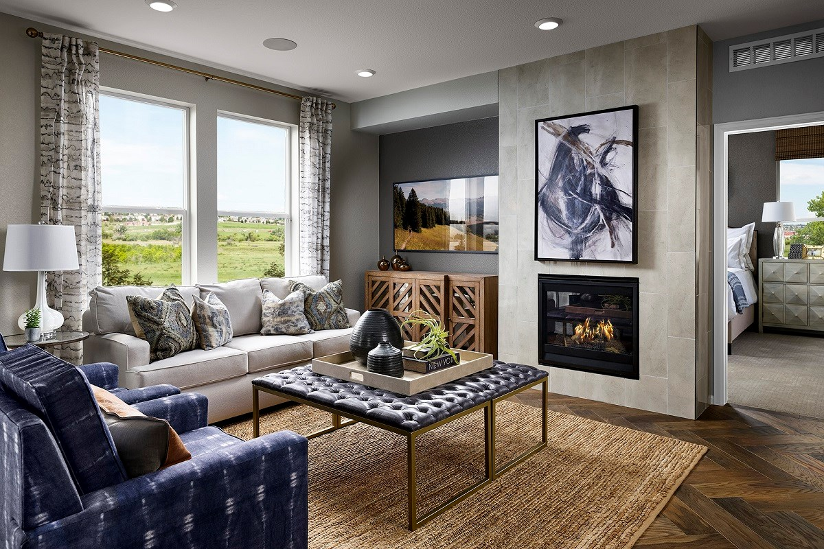 New Homes in Berthoud, CO - Hammond Farm Chaucer - Family Room