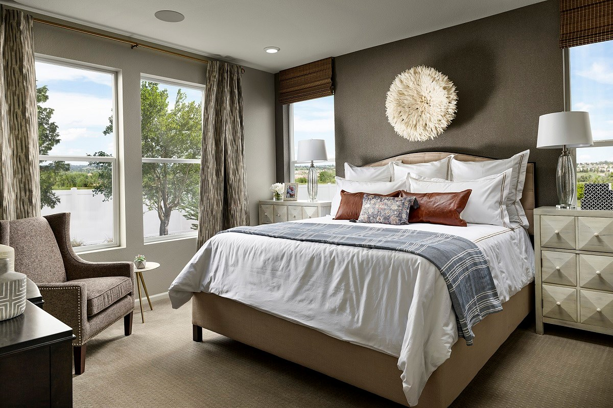 New Homes in Berthoud, CO - Hammond Farm Chaucer - Master Bedroom