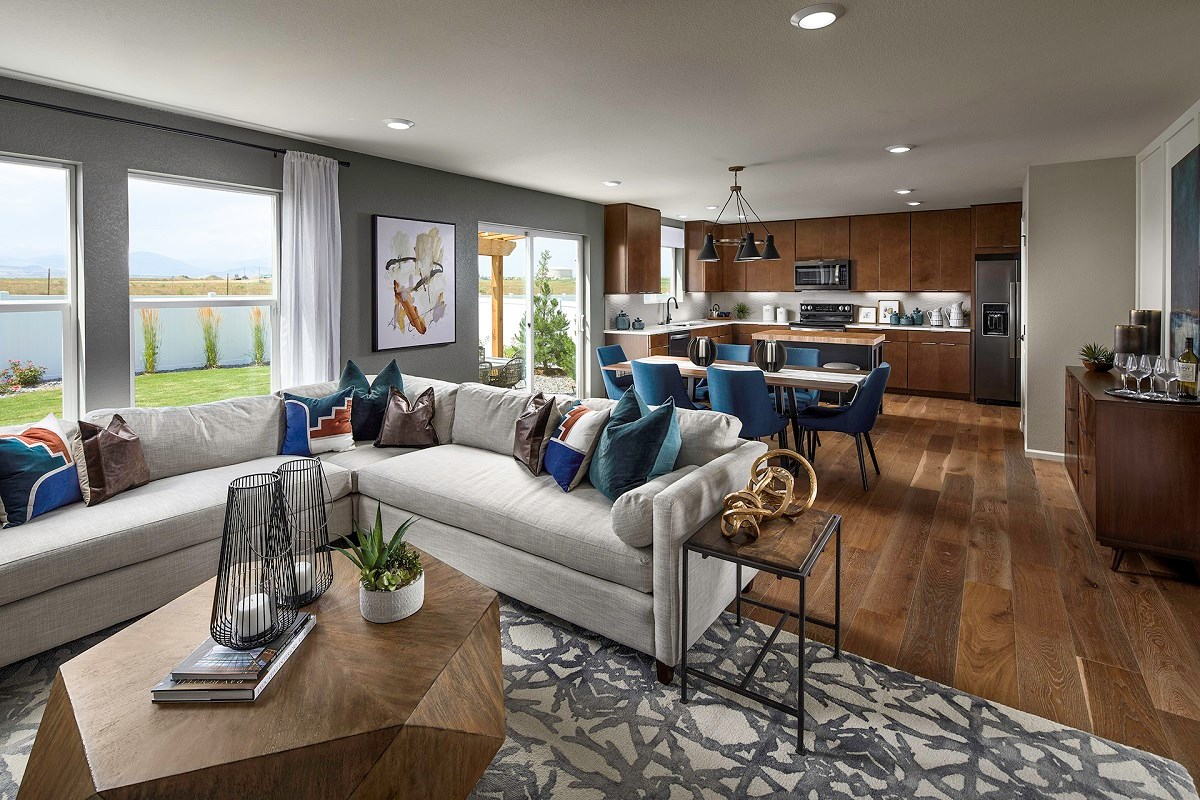 New Homes in Berthoud, CO - Hammond Farm Memory - Great Room