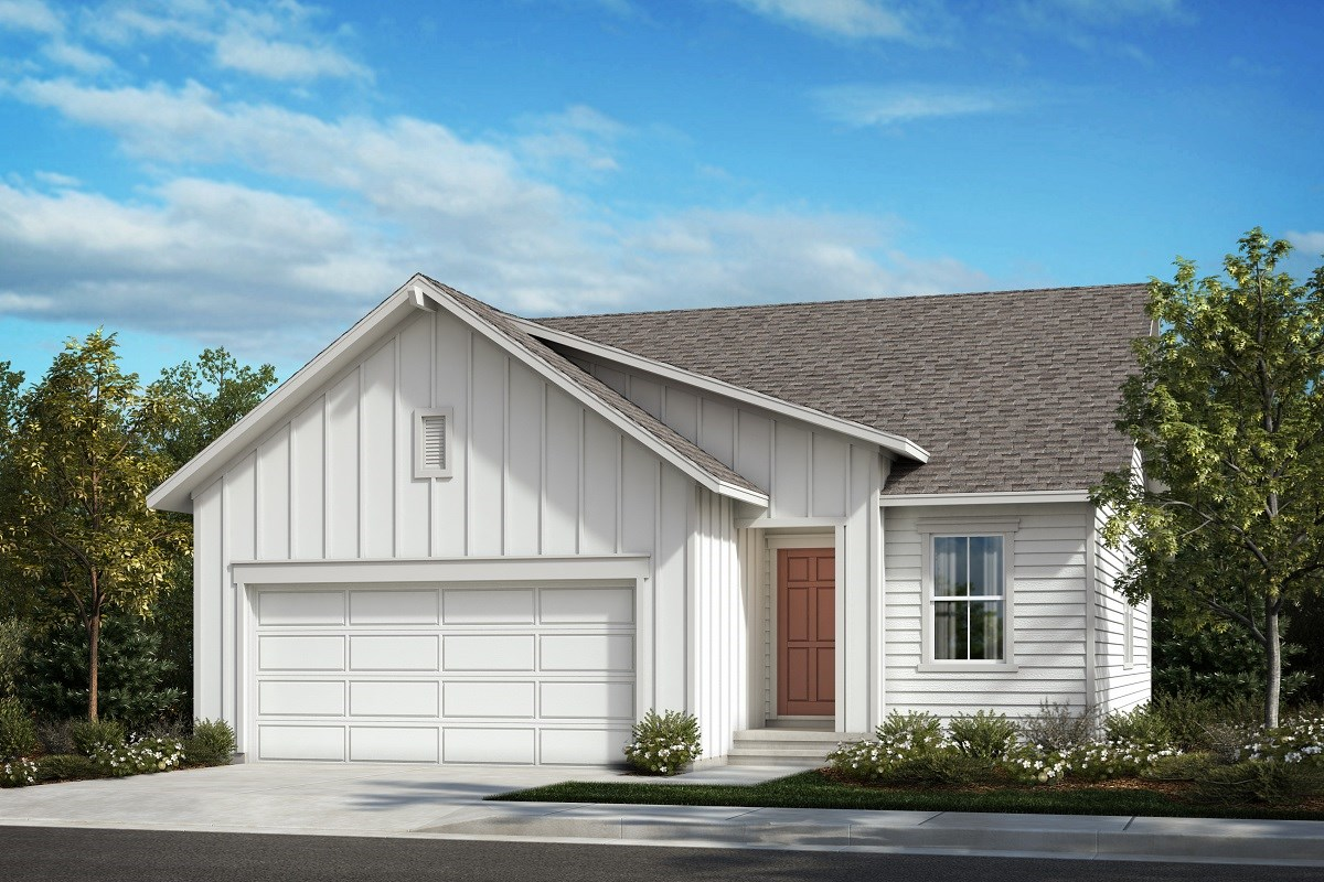 New Homes in Berthoud, CO - Hammond Farm The Aspire - Elevation A