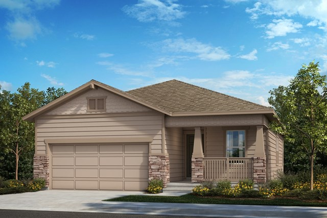 New Homes in Berthoud, CO - The Aspire - Elevation B