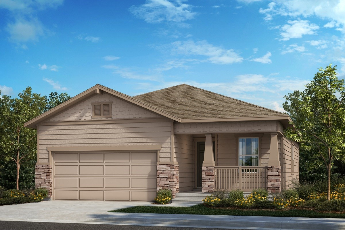 New Homes in Berthoud, CO - Hammond Farm The Aspire - Elevation B