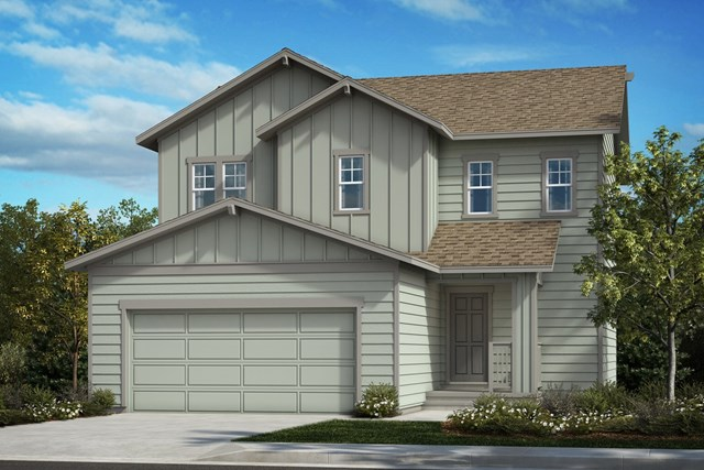 New Homes in Berthoud, CO - The Vision - Elevation A