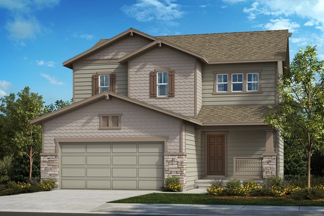 New Homes in Berthoud, CO - The Vision - Elevation B