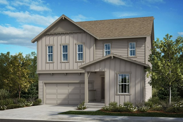 New Homes in Berthoud, CO - The Memory - Elevation A