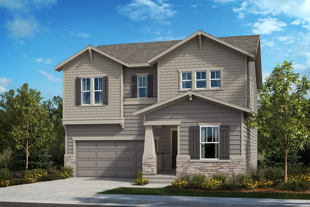 New Homes in Berthoud, CO - The Memory - Elevation B