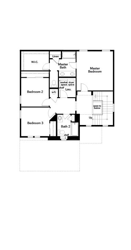 New Homes in Berthoud, CO - The Decker, Second Floor