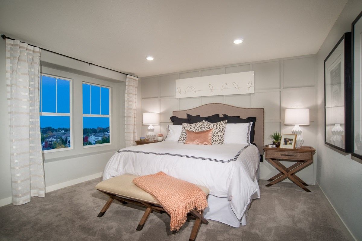 New Homes in Aurora, CO - Highland Villas Willow Master Bedroom