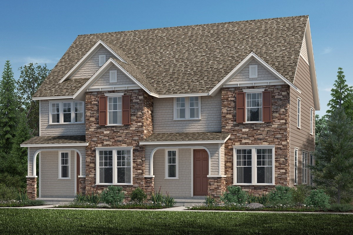 New Homes in Aurora, CO - Highland Villas Redwood + Walnut