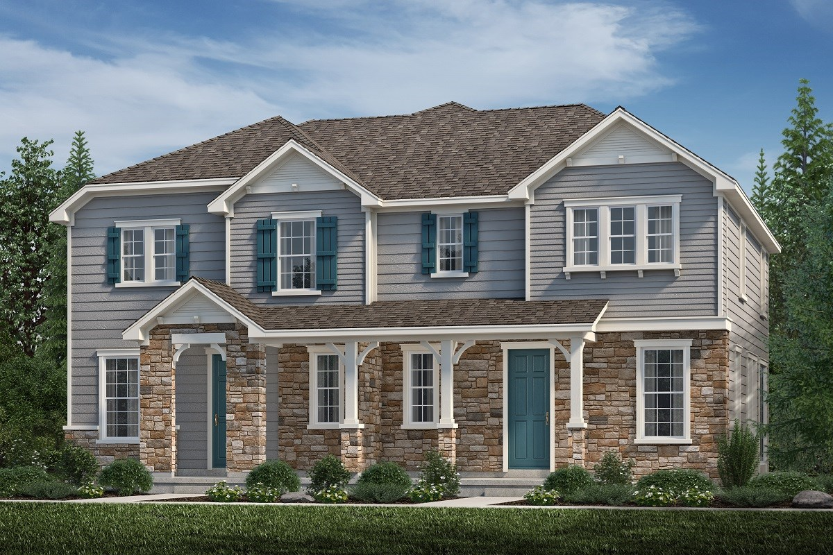 New Homes in Aurora, CO - Highland Villas Redwood + Redwood