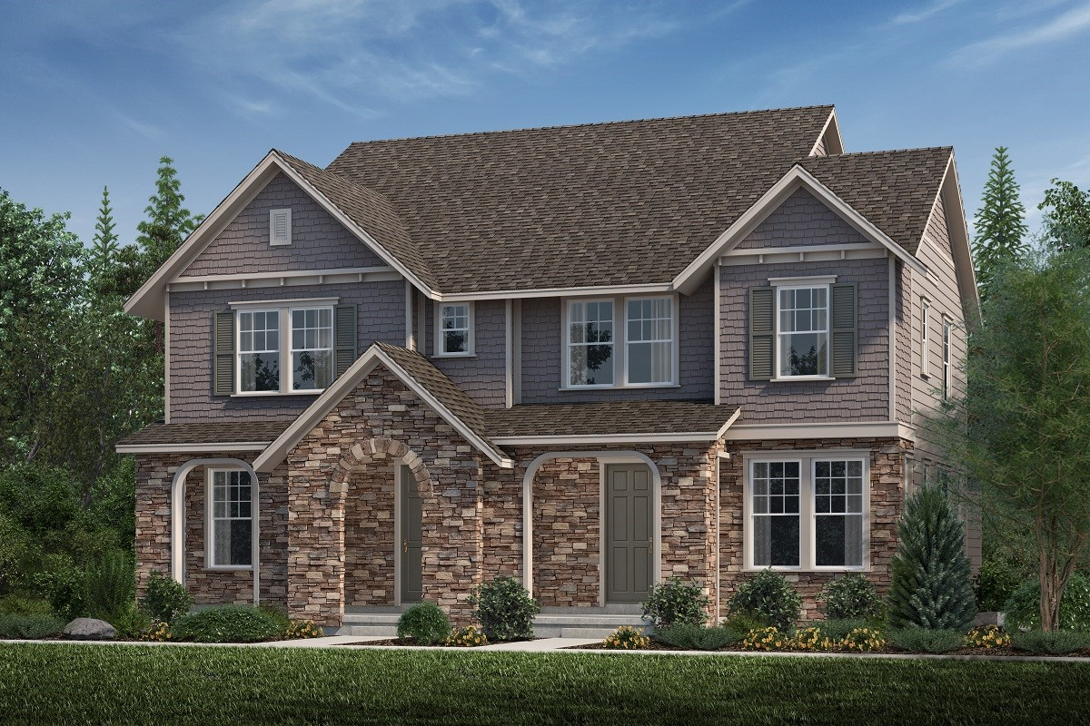 New Homes in Aurora, CO - Highland Villas Cypress + Willow