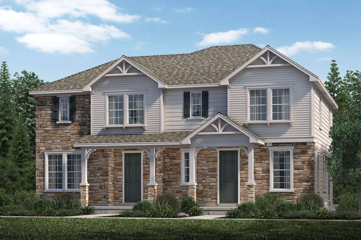 New Homes in Aurora, CO - Highland Villas Cypress + Redwood