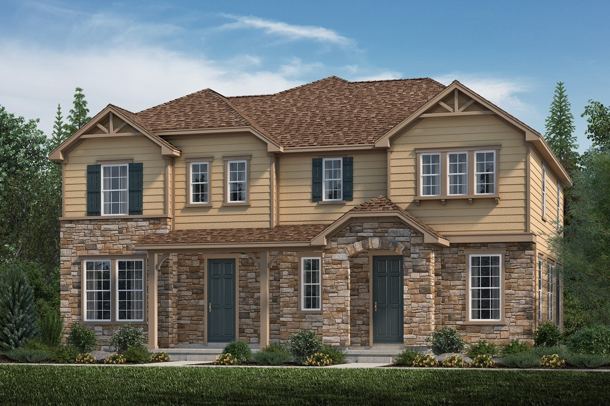 New Homes in Aurora, CO - Highland Villas Willow + Redwood