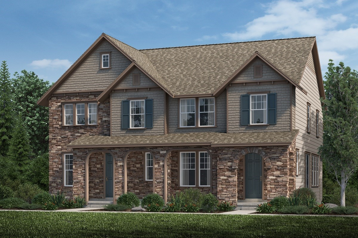 New Homes in Aurora, CO - Highland Villas Spruce + Redwood