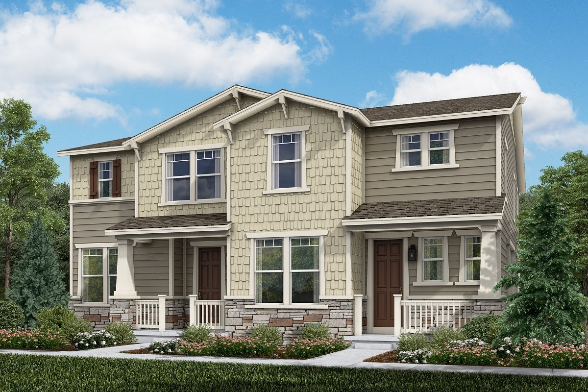 New Homes in Thornton, CO - Homestead Hills Villas Cypress & Walnut
