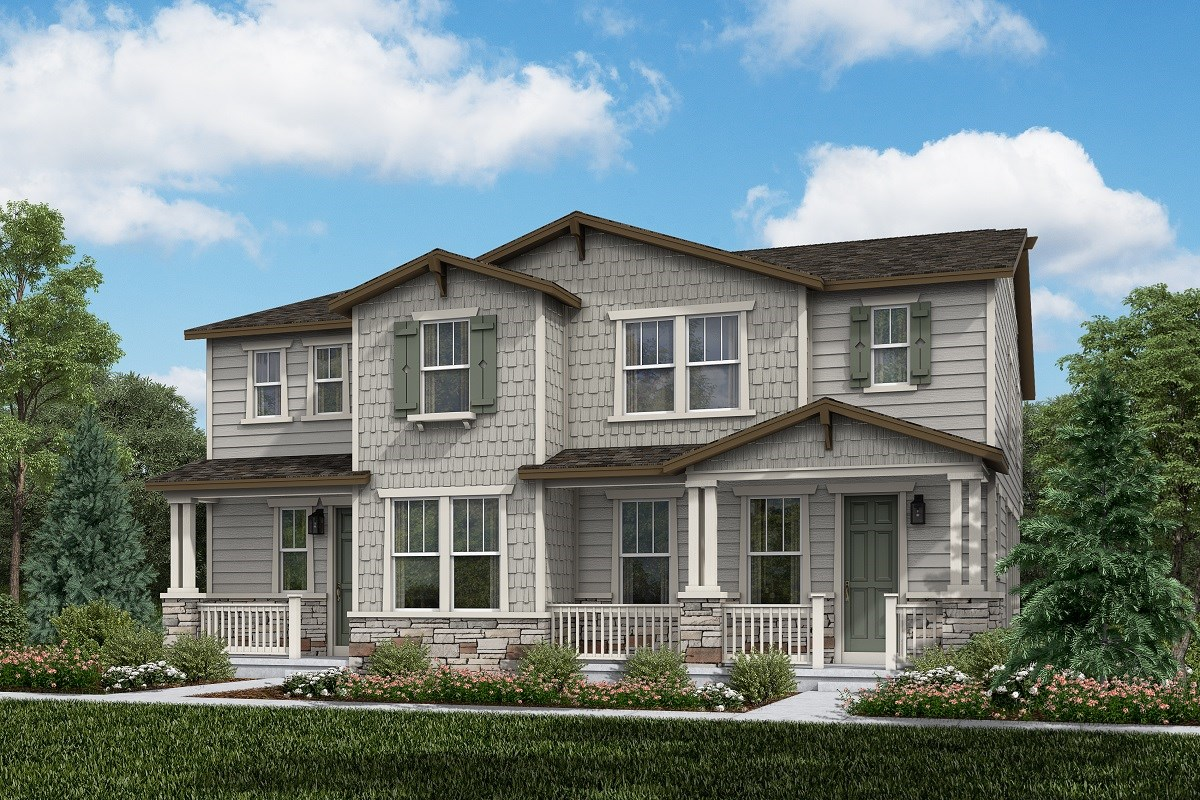 New Homes in Thornton, CO - Homestead Hills Villas Spruce & Walnut