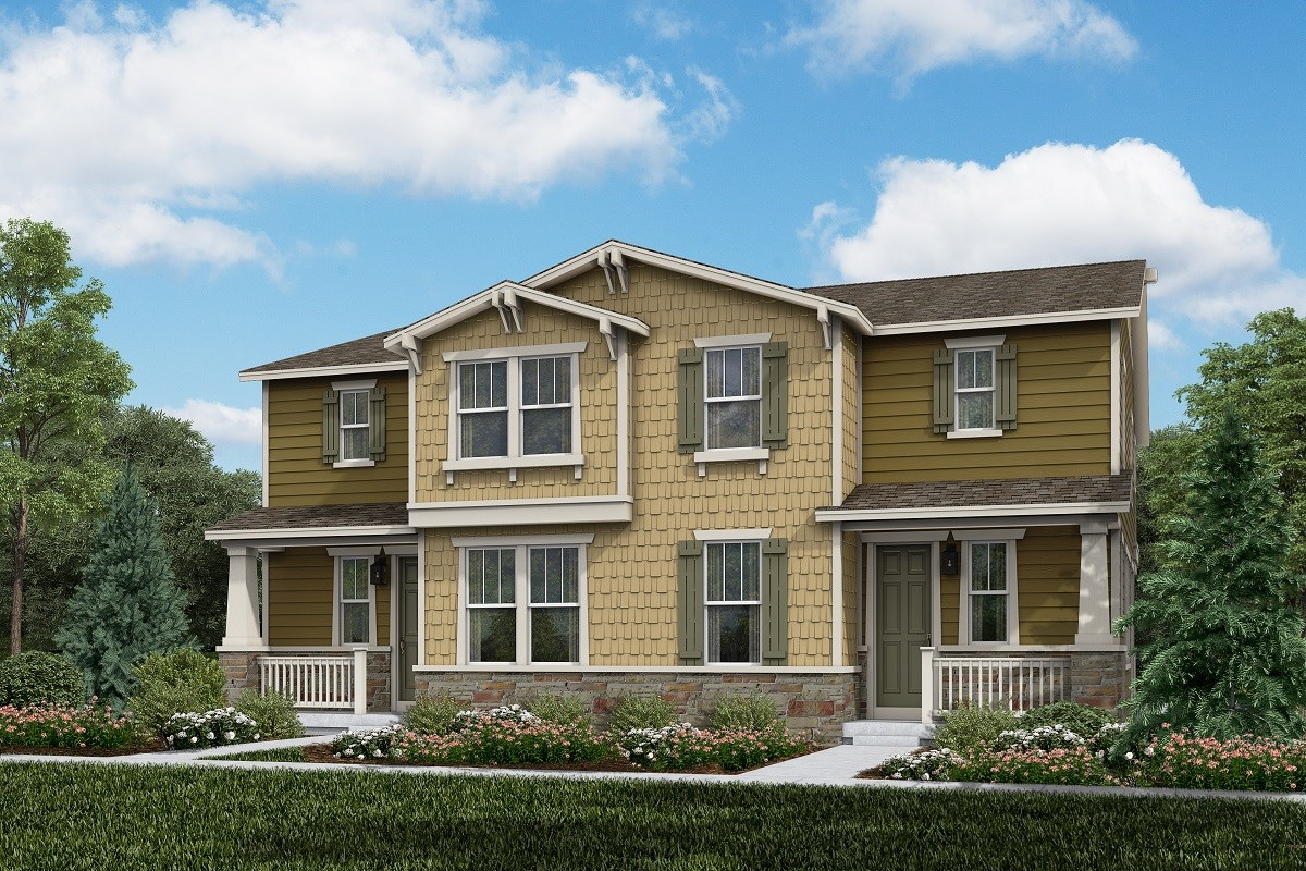 New Homes in Thornton, CO - Homestead Hills Villas Walnut & Walnut