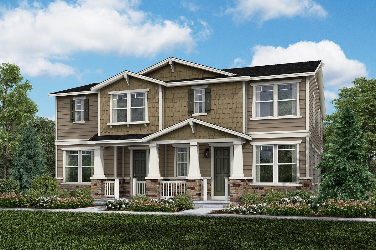New Homes in Thornton, CO - Homestead Hills Villas Cypress & Redwood