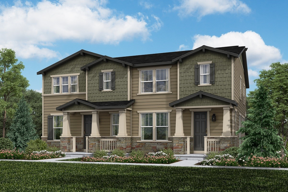 New Homes in Thornton, CO - Homestead Hills Villas Spruce & Redwood