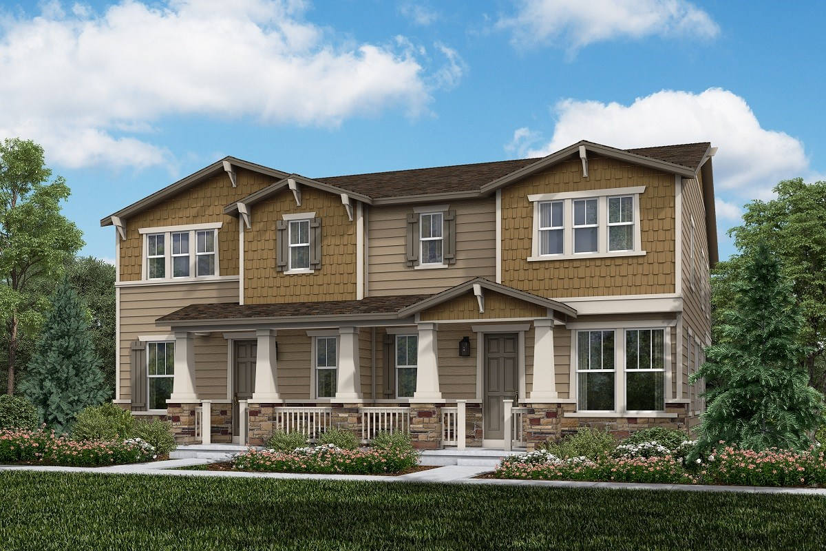 New Homes in Thornton, CO - Homestead Hills Villas Redwood & Redwood