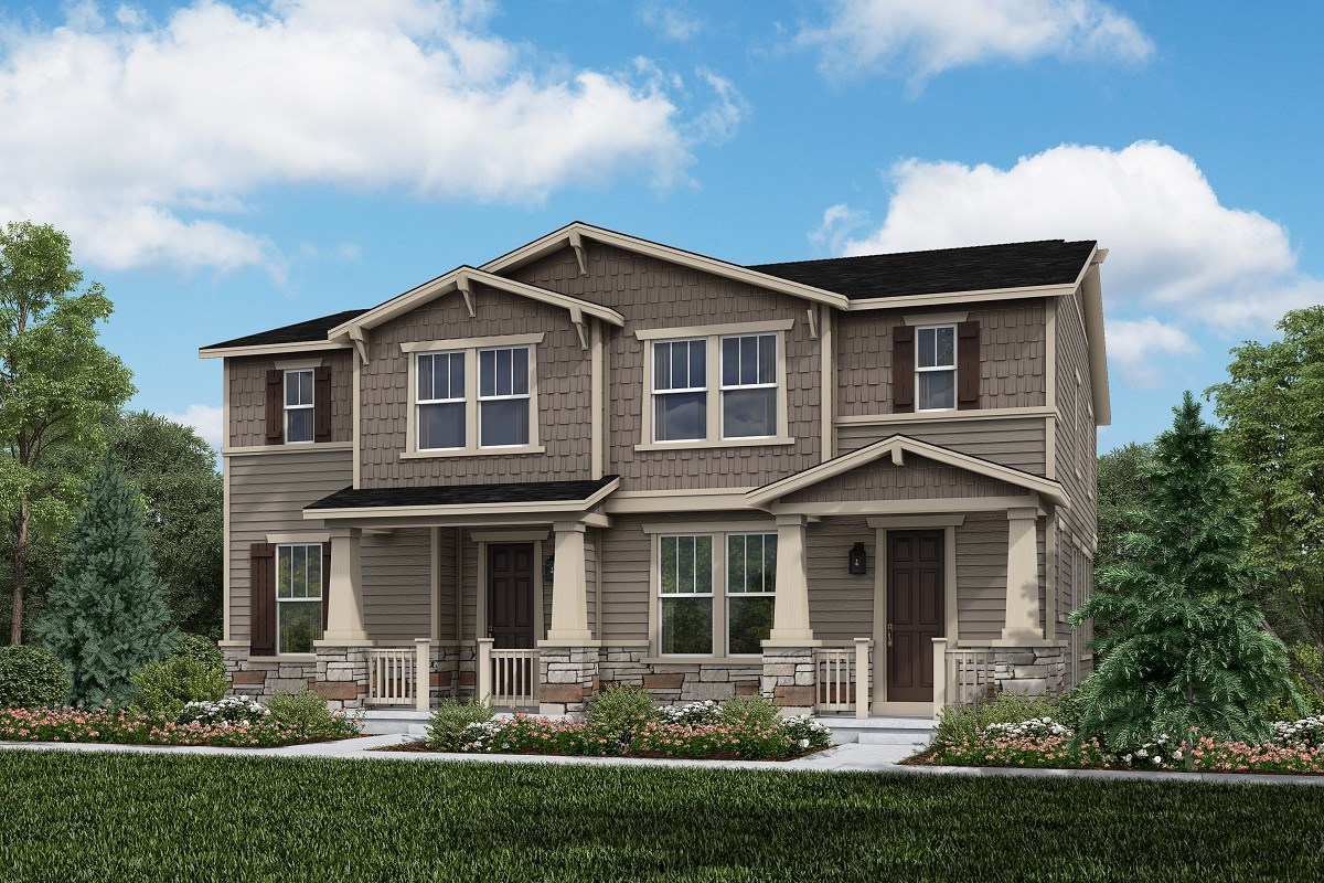 New Homes in Thornton, CO - Homestead Hills Villas Cypress & Spruce