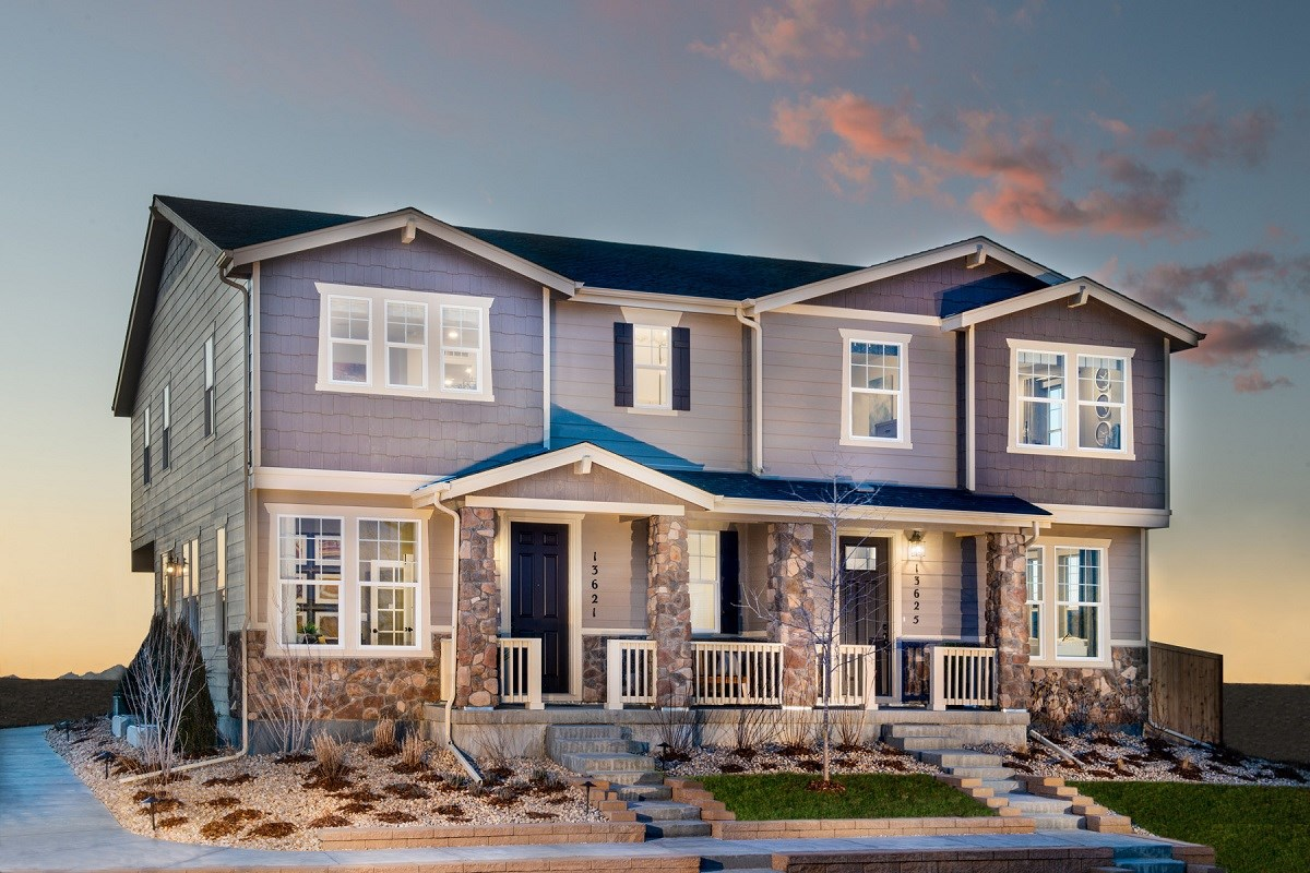 New Homes in Thornton, CO - Homestead Hills Villas Willow & Redwood